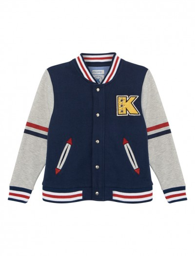BOYS BASBALL JACKET_FR
