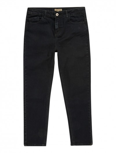 BOYS BLACK WASH JEANS_FR