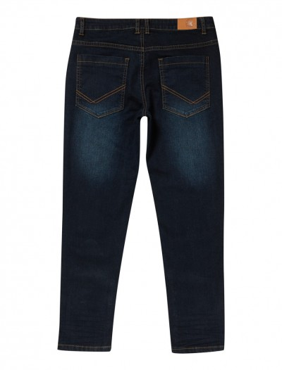 BOYS DARK WASH JEANS_BK