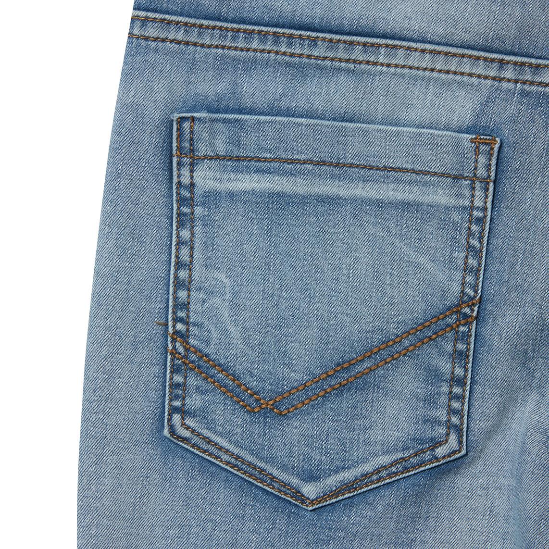 cd935684 Light Blue Plus Size, Sturdy Fit, Adjustable Waist Boys Jeans   22 ...