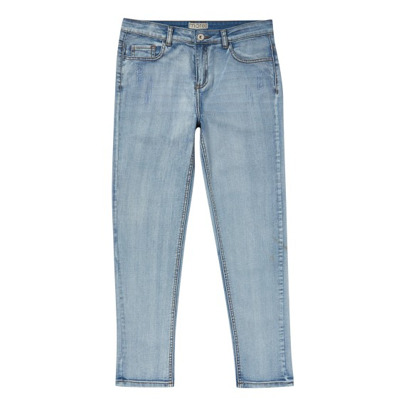BOYS LIGHT WASH JEANS_FR