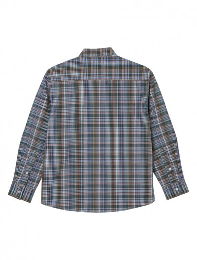 BOYS NEUTRAL CHECK SHIRT_BK