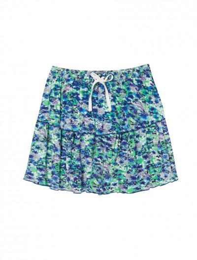 GIRLS DITSY PRINT SKIRT_F