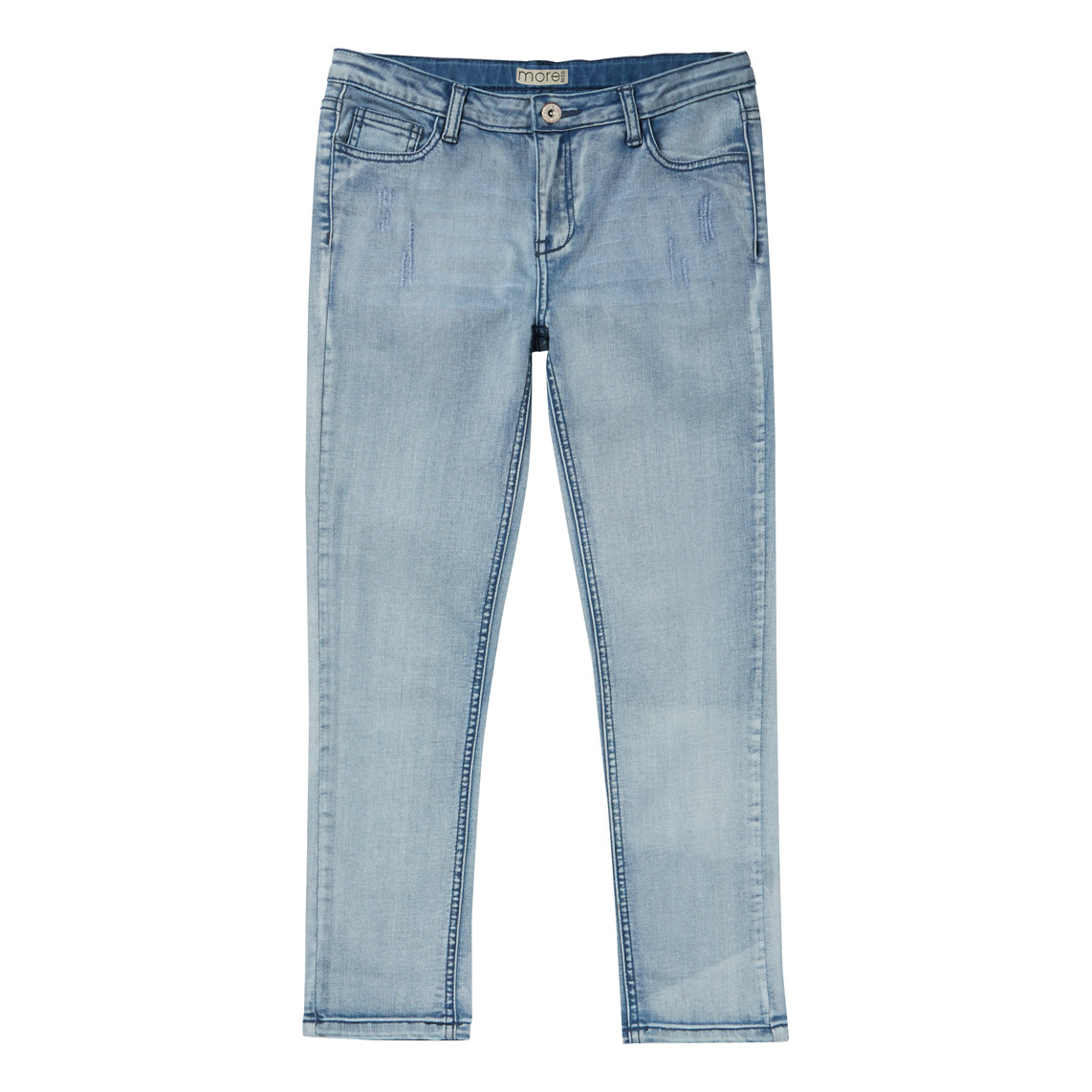 GIRLS LIGHT WASH JEANS_FR