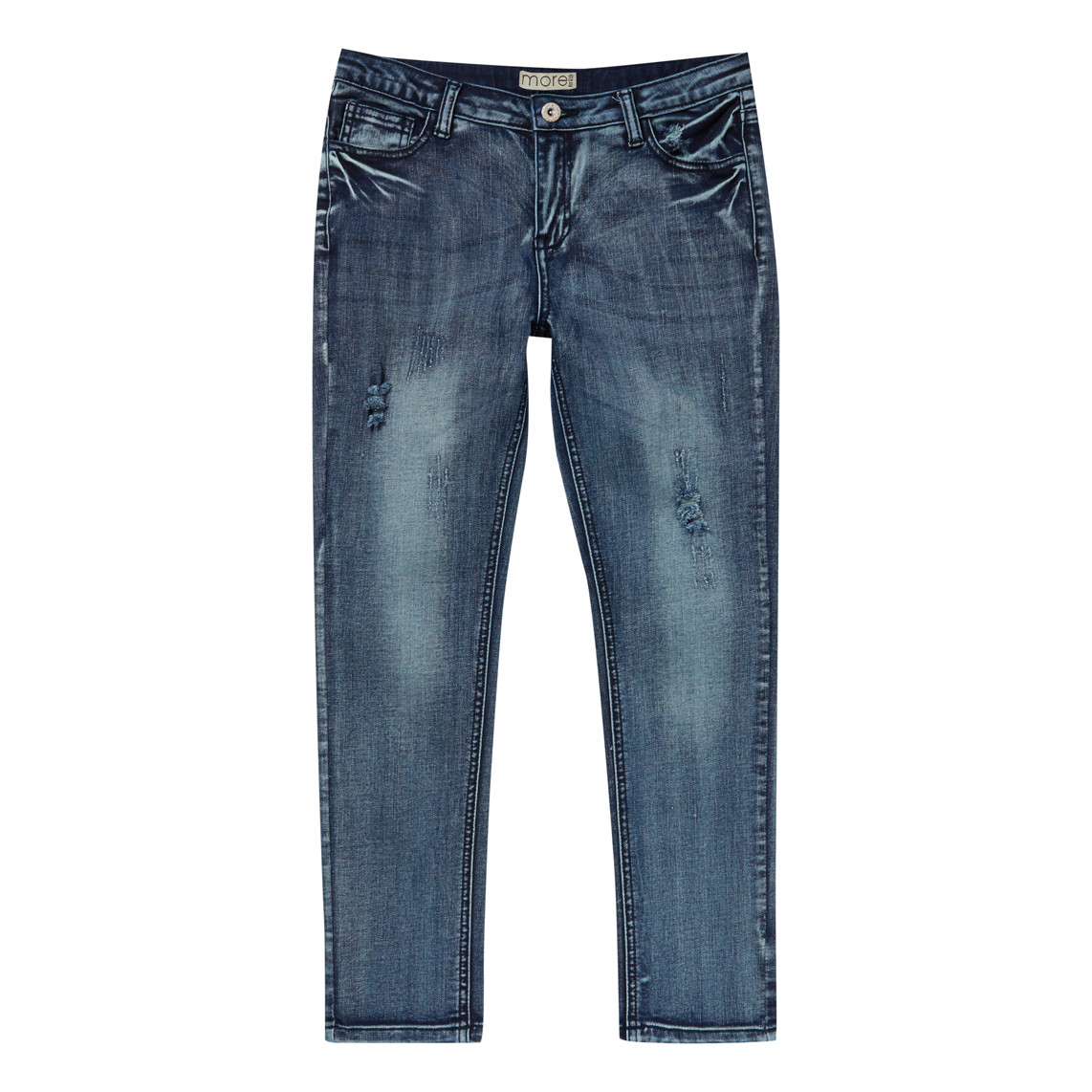 GIRLS MID WASH JEANS_FR
