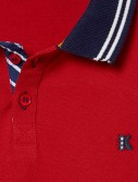 BOY POLO SHIRT_RED_DT