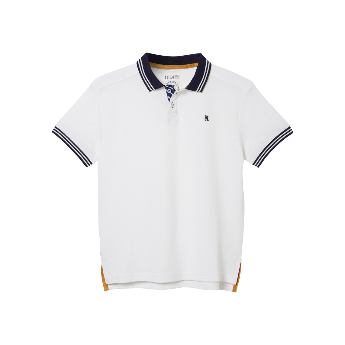 BOY POLO SHIRT_WHITE_FR