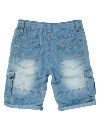 BOYS CARGO SHORTS_BK