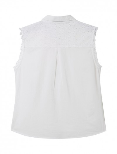 BRODERIE SLEEVELESS BLOUSE_BK-siz