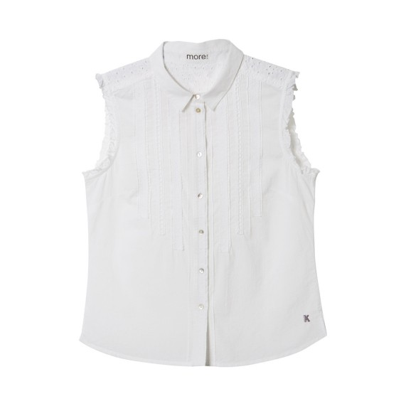 BRODERIE SLEEVELESS BLOUSE_FR-siz