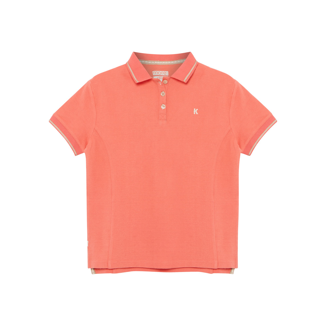Geranium plus size polo shirt for girls generous fit 28 for Polo shirt girl addiction