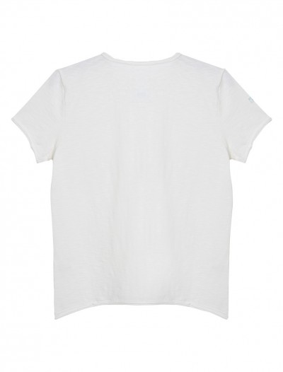 GIRLS SHORT SLEEVE TOP_WHITE_BK