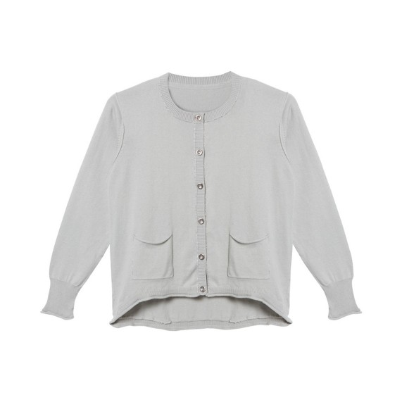 LUREX TRIM CARDIGAN_GREY_C_FR