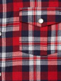 RED CHECKED LONG SLEEVE SHIRT_RED_DT