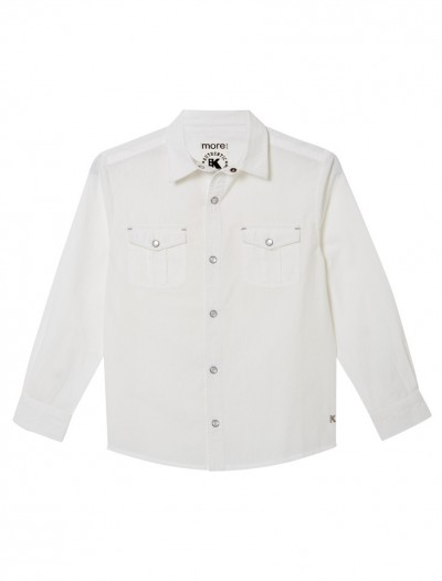 WHITE AUTHENTIC SHIRT_FR