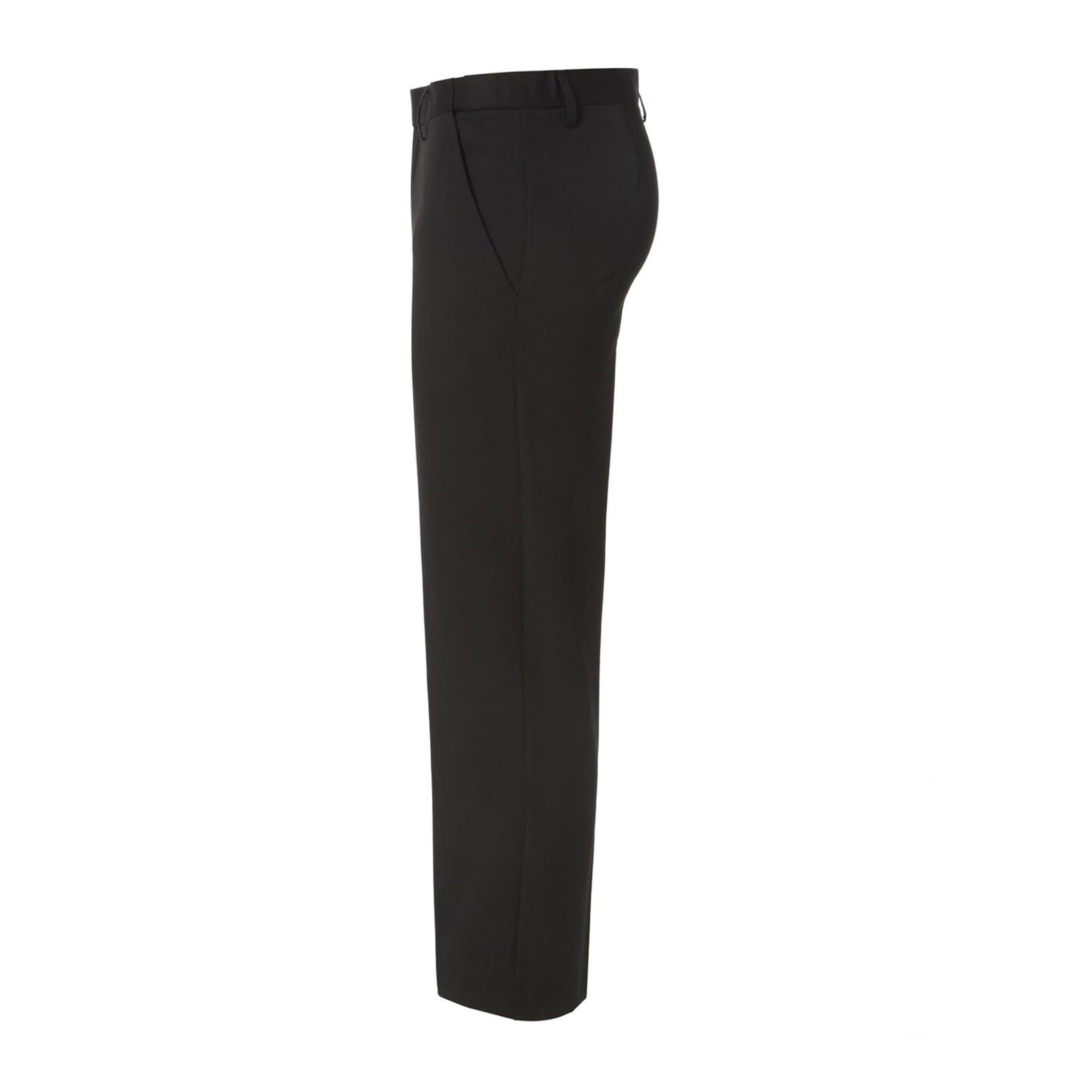 cc91efec6ec Black Plus Size Half elasticated Waist Trousers for Boys